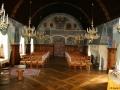 Interiér hradu Bouzov